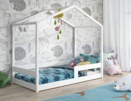 Drewniane łóżko dla dzeci DOMEK z materacem w zestawie !