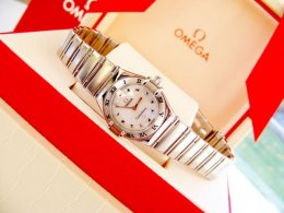 Omega Constellation Mother of Pearl Ladies Mini
