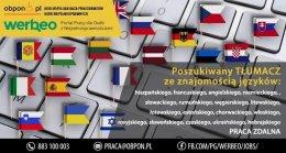 Tłumacz- praca zdalna dla osób niepełnosprawnych