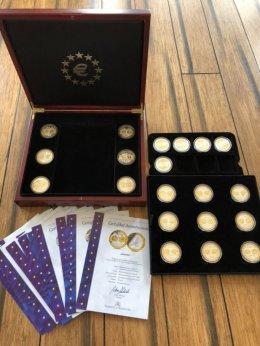 Kolekcja monet upamiętniająca wspólną walutę euro