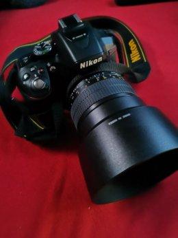 Mega Zestaw Nikon D530AF-P 18-55 VR +SAMYANG 85mm F1.4 AS +dodatki