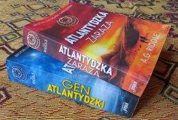 A.G. Riddle Gen Atlantydzki akcja 560 stron thriller
