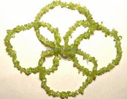 Bransoletka perydot oliwin sieczka moc wulkanu