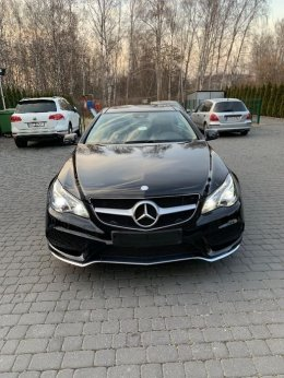 Mercedes benz w212 e500 coupe v8 amg 2014r lift