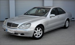 NIEPOWTARZALNY Mercedes S Klasa W220 3.2 V6 224 KM LPG JEDYNY TAKI !!