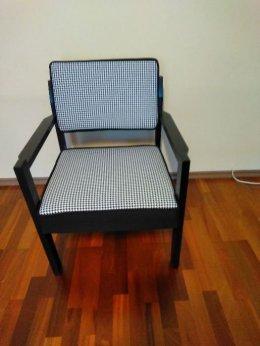 Piękny fotel prl po renowacji