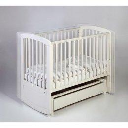 TROLL NURSERY łóżeczko z kołyską De Lux Glidert Cot 120x60