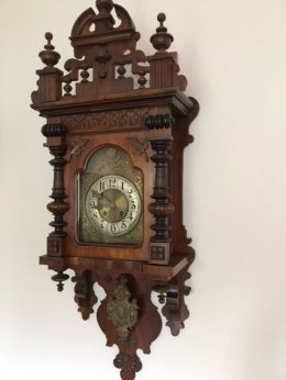 Zegar ścienny - antyk Gustav Becker 1902 r