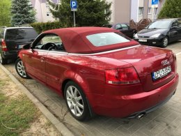 Audi A4 Cabrio Salon Polska