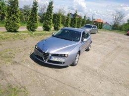 Alfa Romeo 159 2009r.  1.9 JTDm,150 KM, Czujniki parkowania, 2 str. klima