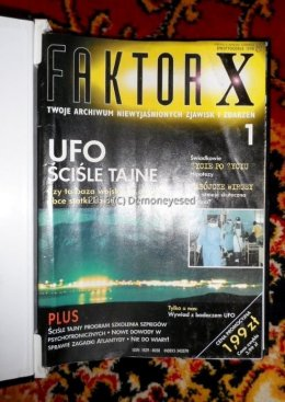 Faktor X 1-64 UFO teorie spiskowe parapsychologia sny top secret krk
