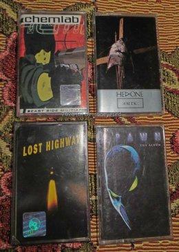 Kasety audio industrial rock Chemlab Hedone Lost Highway Spawn
