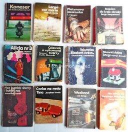 Kryminały PRL KAW Różowa Seria 1975-89 Edigey Siewierski Trench Roy