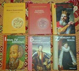 Książki historyczne wyd. Avalon i Ossolineum stan bdb
