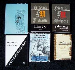 Nietzsche Zmierzch Bozyszcz Pisma Listy Lichański