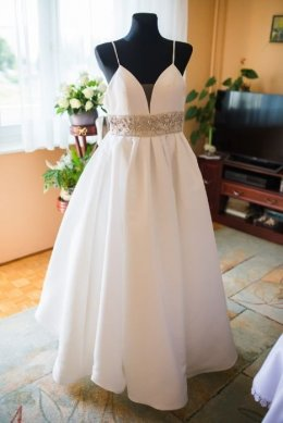 Suknia ślubna - justin alexander