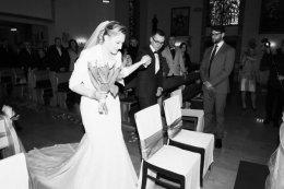 Suknia Ślubna przynajmniej na 170cm rozm. 38- 40