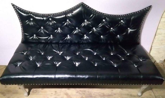 Sofa, ławka Glamour.