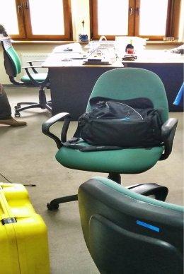 Krzesła obrotowe (3 sztuki)