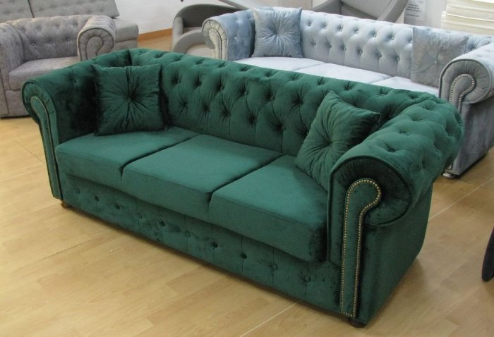 Sofa Chesterfield Kanapa Pikowana