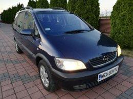 Śliczny Opel Zafira 1.8 B+ LPG 2001 r Sprawna KLIMATYZACJA!!