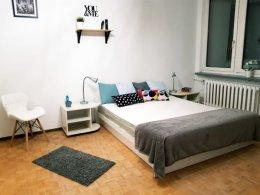 #1 Duży pokój z balkonem, Bielany, blisko metra Młociny i AWF
