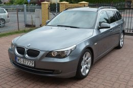 BMW E61 530D 235KM LCI 2010r Manual 6B KOMFORTY Panorama CIC ZADBANY