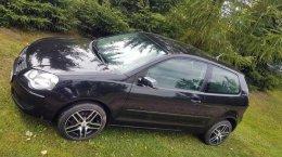 VW POLO 1.2 12V 2007r. czarna klima elektryka abs esp parktronic alu