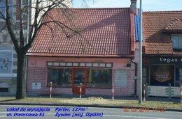 Lokal mieszk pracowniczy dla Ukraińców do wynajmu 127m2 parter, Żywiec ul. Dworcowa 51 (koło Dworca)