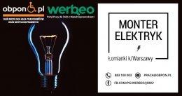 Monter Elektryk - praca stacjonarna w Łomiankach k/Warszawy dla osoby z niepełnosprawnością
