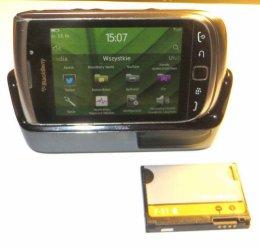 Blackberry 9810 Torch dotyk stacja dokuj 2 baterie BB7.1