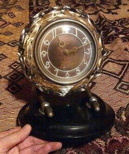 Kolekcjonerski zegar kryształowy Majak CCCP ZSRR KRK