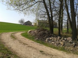 Sprzedam siedlisko i działkę rolniczo budowlaną