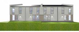 Nowy segment domu w Szczecinie