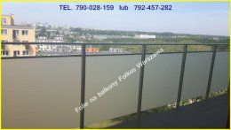 Folie na balkony Lazurowa, Batalionów Chlopskich i okolice oklejanie Balkonów