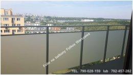 Folie na balkon Wwa Bartycka, Bluszczańska,Nadrzeczna Folie na Balkony
