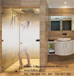 Folie na kabiny prysznicowe, okna łazienkowe,balkony,witryny,przeszklenia Warszawa