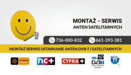 Dostrajanie anten satelitarnych i naziemnych DVB-t Kielce i okolice najtaniej