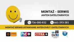 Montaż, Serwis, ustawianie anten satelitarnych Morawica Najtaniej