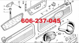nowe części syreny 102,103 104 105 bosto r20
