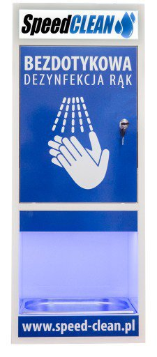 Maszyna do dezynfekcji rąk Speed Clean autostacja