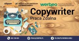 Copywriter - praca zdalna