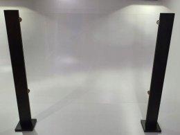 Osłona antywirusowa konstrukcja z plexi na wymiar