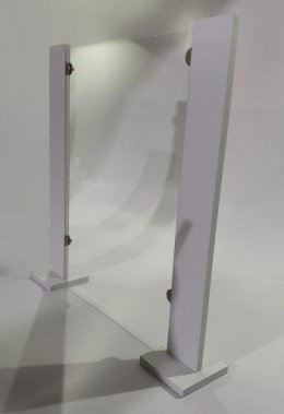 Osłona antywirusowa z pleksi za wymiar 123 x 91cm