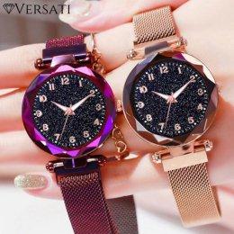 Kryształowy Zegarek Damski Versati Starlight – Elegancki Zegarek Dla Kobiet