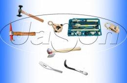 Mocne narzędzia blacharskie w atrakcyjnych cenach, nożyce, babki, rozwiertaki