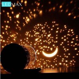 Niesamowita Lampa Nocna LEDMax – Projektor Gwiezdnego Nieba