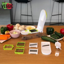 Uniwersalny Siekacz Kuchenny Veggie – Urządzenie do Krojenia Warzyw i Owoców