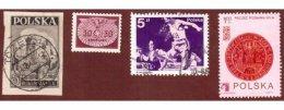 Zamek Będzin i inne znaczki pocztowe