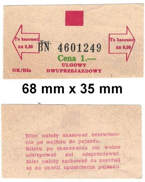 Bilet komunikacji miejskiej